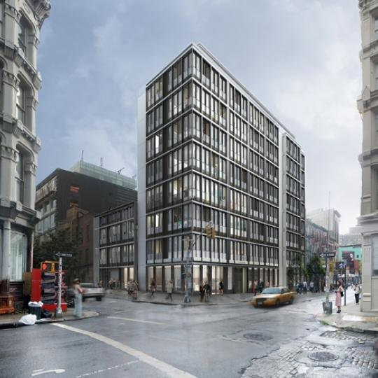 27 Wooster Street Building- exterior- Condos for sale in NYC