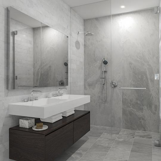Apartments for sale at 287 East Houston Street in Greenwich Village - Bathroom