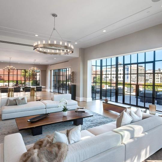 Puck Penthouses-Livingroom- Nolita NYC Condominiums