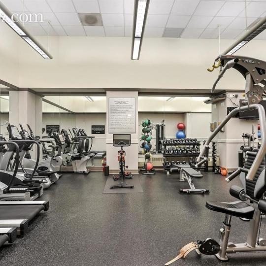 Fitness Center at 2 Columbus Avenue in NYC - Condos for sale