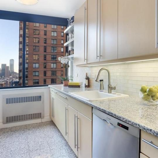 Apartments for sale at 2 Columbus Avenue in NYC - Kitchen
