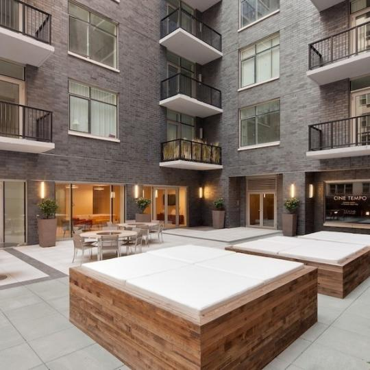 300 East 23rd Street Courtyard - NYC Condos for Sale