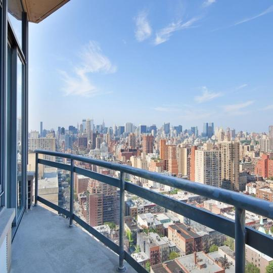 View from the Private Balcony at 300 East 85th Street