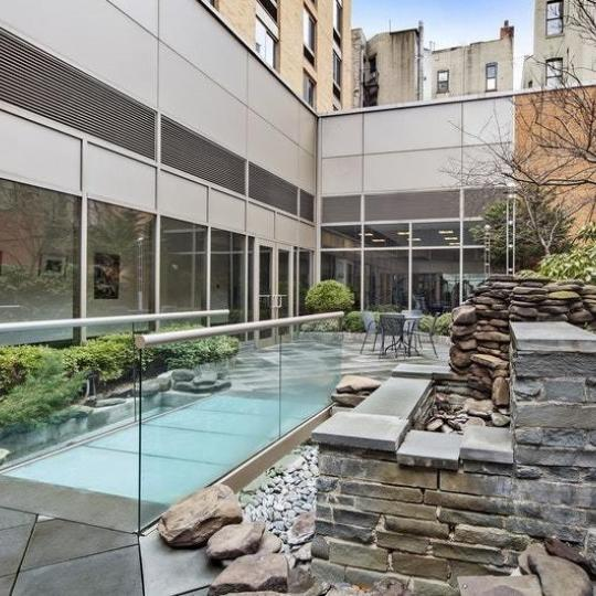 Garden at 300 West 135th Street in Harlem - Condos for sale