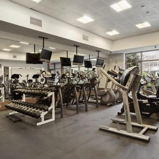 Apartments for sale at Strivers Garden in Manhattan - Fitness Center