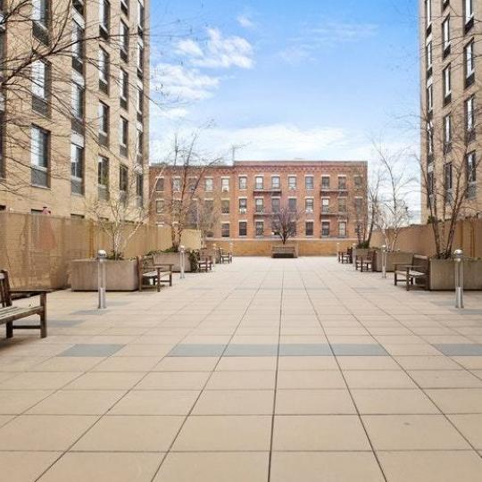 Aparments for sale at Strivers Garden in NYC - Terrace