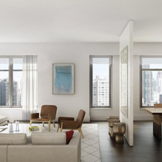 Living Room - 301 East 50th Street - Condos for Sale