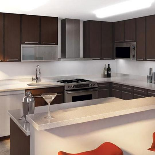 SOHA 118 Kitchen Area - New Condos for Sale NYC