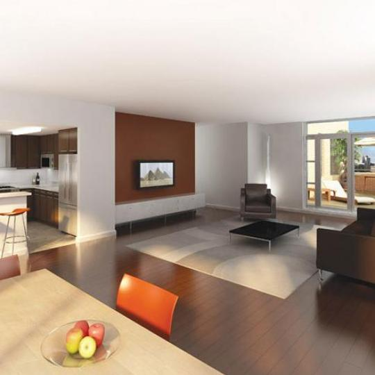 SOHA 118 living room - Manhattan Condominiums for Sale