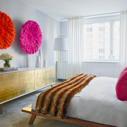 The Bedroom at 301 West 53rd Street