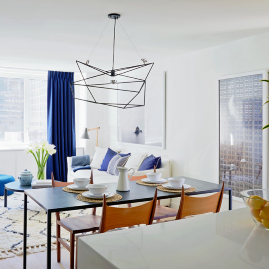 Condos for sale at Fifty Third and Eighth - Living Room - 3 Bedroom apartment