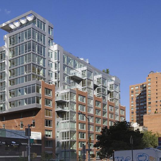 303 East 33rd Street outside - New Construction Manhattan
