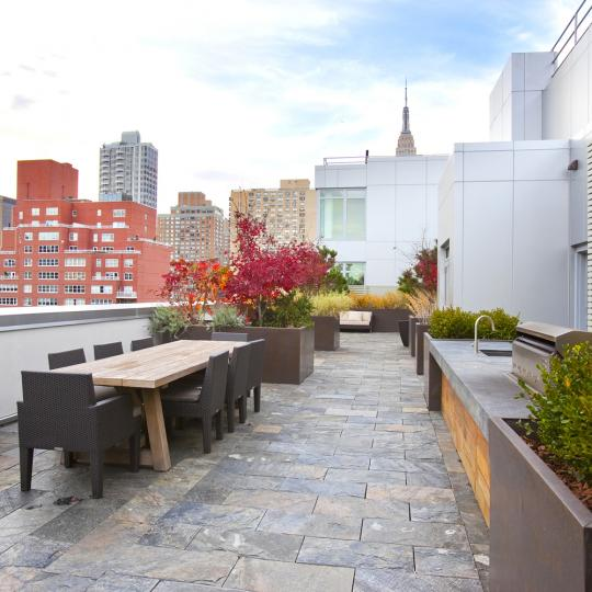 303 East 33rd Street terrace - New Construction Manhattan