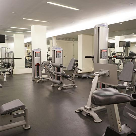 303 East 33rd Street gym - New Construction Manhattan