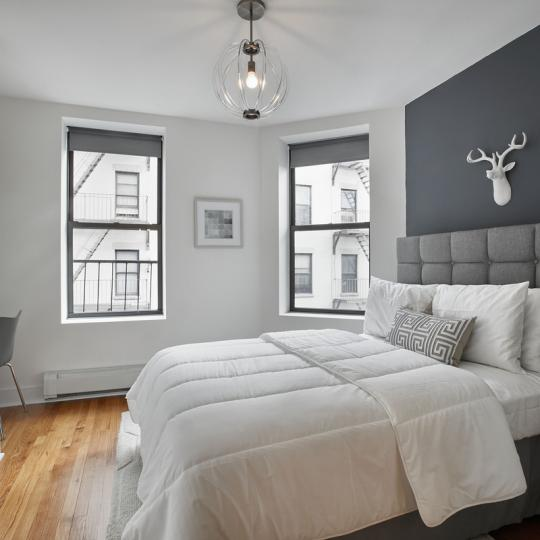 Bedroom at 305 West 150th Street in Manhattan - Apartments for sale