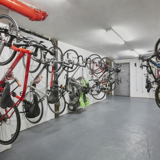 Bike Room at 305 West 150th Street in NYC - Apartments for sale