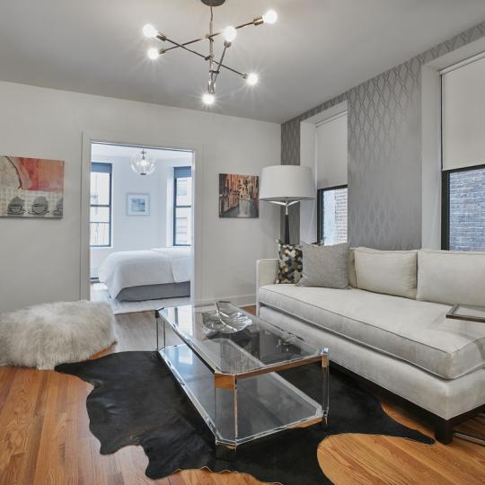 Condos for sale at 305 West 150th Street in Central Harlem - Living Room