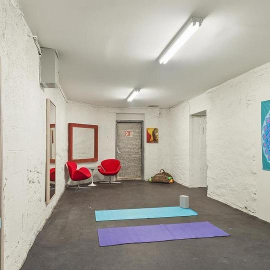 Condos for sale at 305 West 150th Street in Manhattan - Yoga Studio