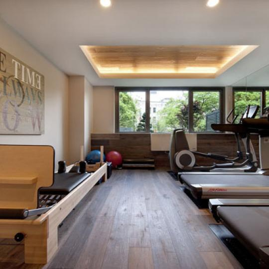 Gym at 305 W 16 - Condominiums for Sale