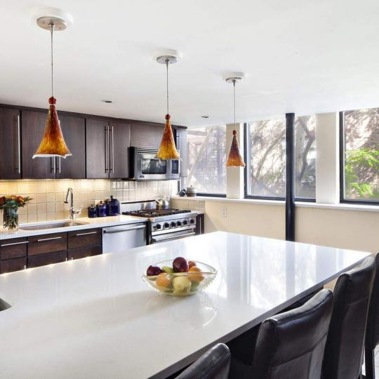 Open Kitchen at 309 East 108th Street in NYC - Condos for sale