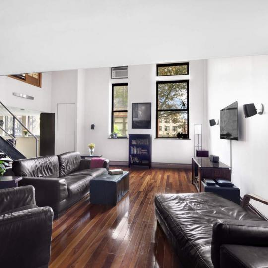 Living Room at 309 East 108th Street in Manhattan - Condos for sale