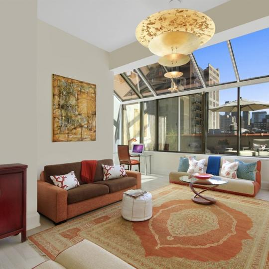 Living Area - Parkwood Building- Condominiums - Midtown East