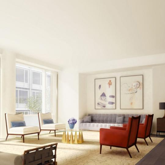 311 West Broadway Sitting Area - NYC Condos for Sale