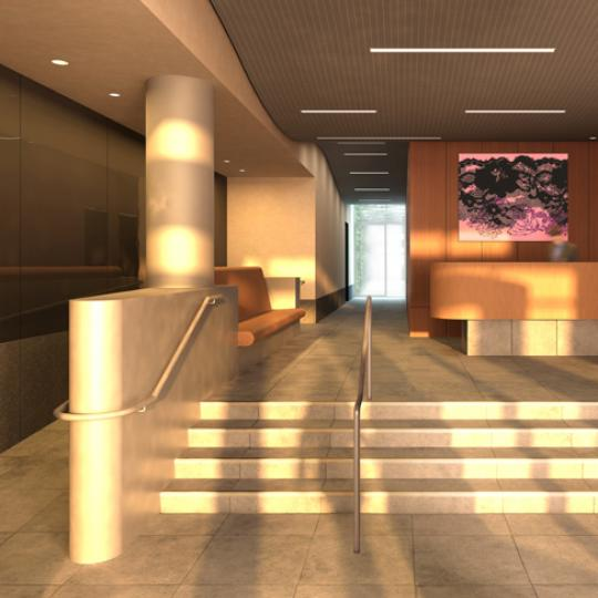 Soho Mews Lobby - SoHo NYC Condominiums