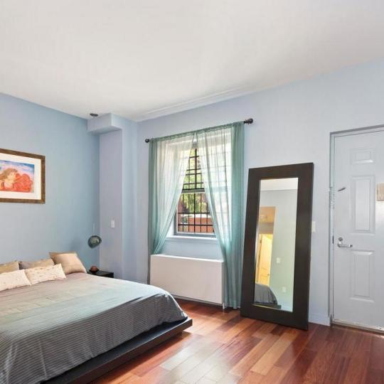 Bedroom at 313 West 119th Street in Harlem - Apartments for sale