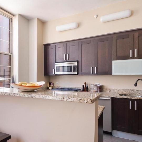 Kitchen at 313 West 119th Street in Manhattan - Condos for sale