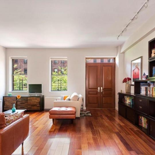 Living Room at 313 West 119th Street in Manhattan - Condos for sale