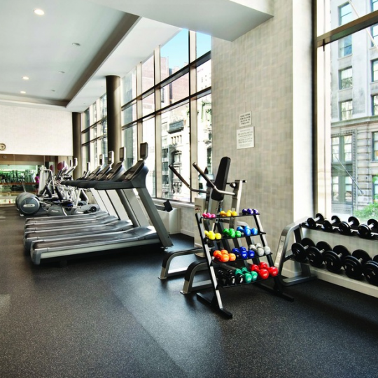 Fitness Center at 325 Fifth Avenue in NYC