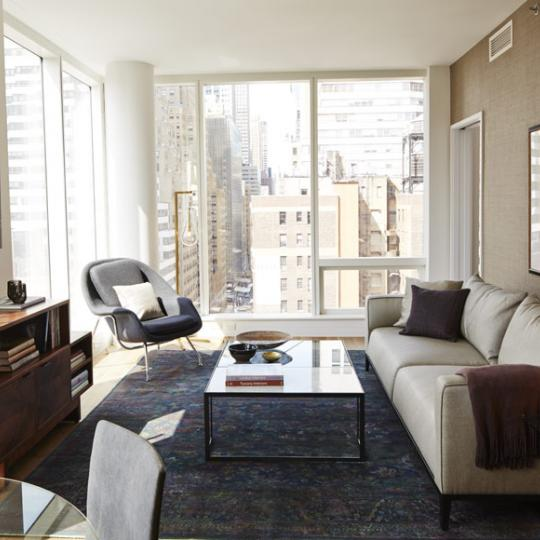 Living Room - 325 Lexington Avenue