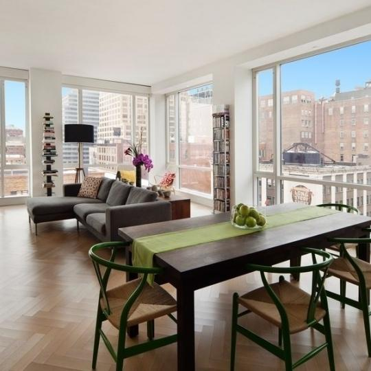 330 Spring Street- living room- condos for sale in NYC