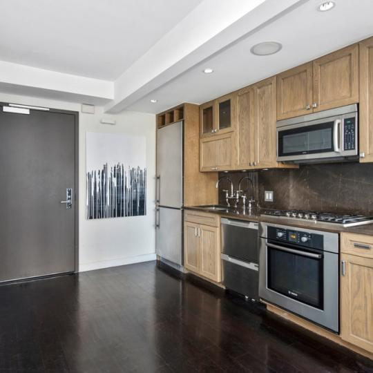 333 Rector Place NYC Condos - Kitchen at One Rector Park