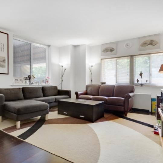 333 Rector Place New Construction Condominium Living Room