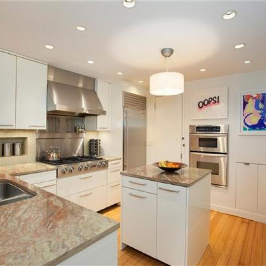Open Kitchen at 344 West 23rd Street in NYC - Aparments for sale