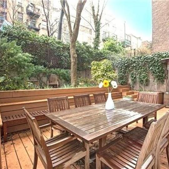 Condos for sale at 344 West 23rd Street in Chelsea - Private Garden