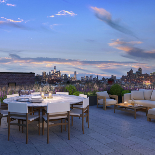 Magnificent view from the rooftop deck - Apartments for rent