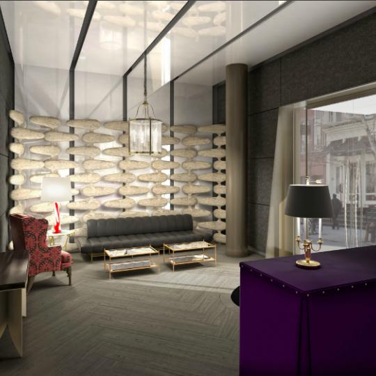 350 West Broadway lobby - New Construction Manhattan