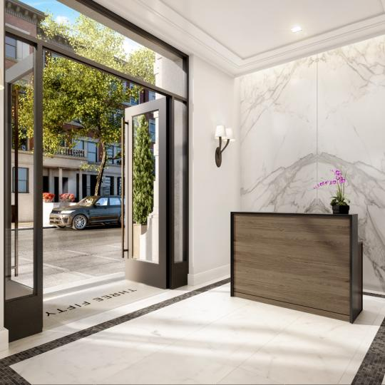 Entrance at 350 West 71st Street in Upper West Side - Apartments for sale