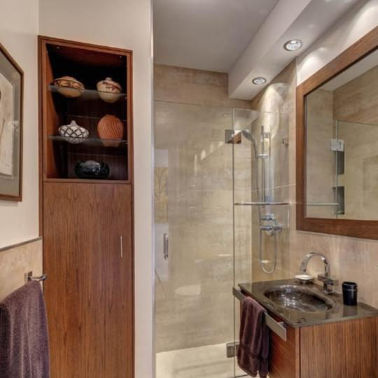 Bathroom at 360 East 88th Street in Manhattan