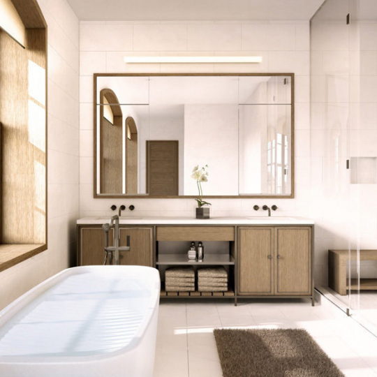 Bathroom 36 Bleecker Street - NYC Condos for Sale
