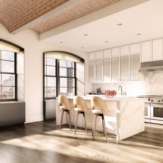 Kitchen - The Schumacher Apartments for Sale