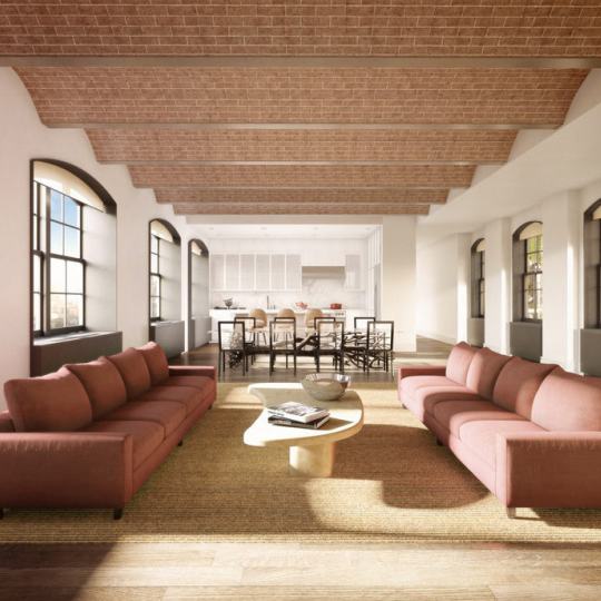 Living and Dining Room -36 Bleecker Street- Condominiums for Sale in Noho