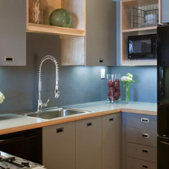 Kitchen- 37 Bridge Street- apartments for sale in Brooklyn