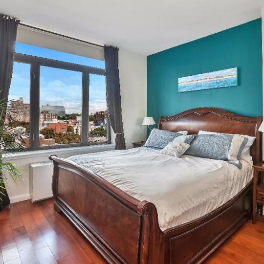Bedroom at 380 Lenox Avenue in Manhattan - Apartments for sale