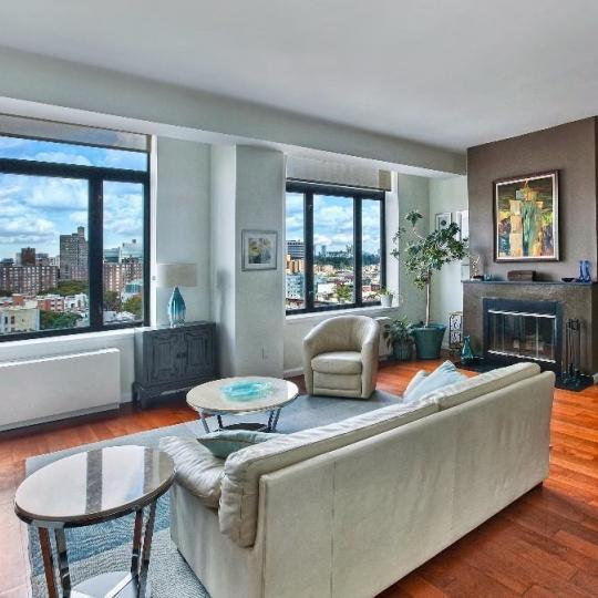 Condos for sale at The Lenox Condominium in Harlem - Living Room