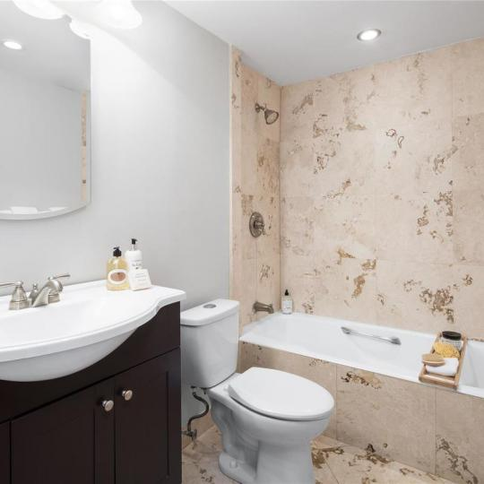 Apartments for sale at 380 Rector Place in NYC - Bathroom