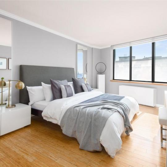 Bedroom at 380 Rector Place in Battery Park City